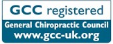 Taunton Chiropractic is registered with the General Chiropractic Council (GCC)